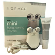 Nuface Mini Facial Toning Device - White by Nuface for Unisex - 3 Pc Kit Nuface Mini Device, 2oz Gel Primer - All Skin Types, Power Adapter, User Manual