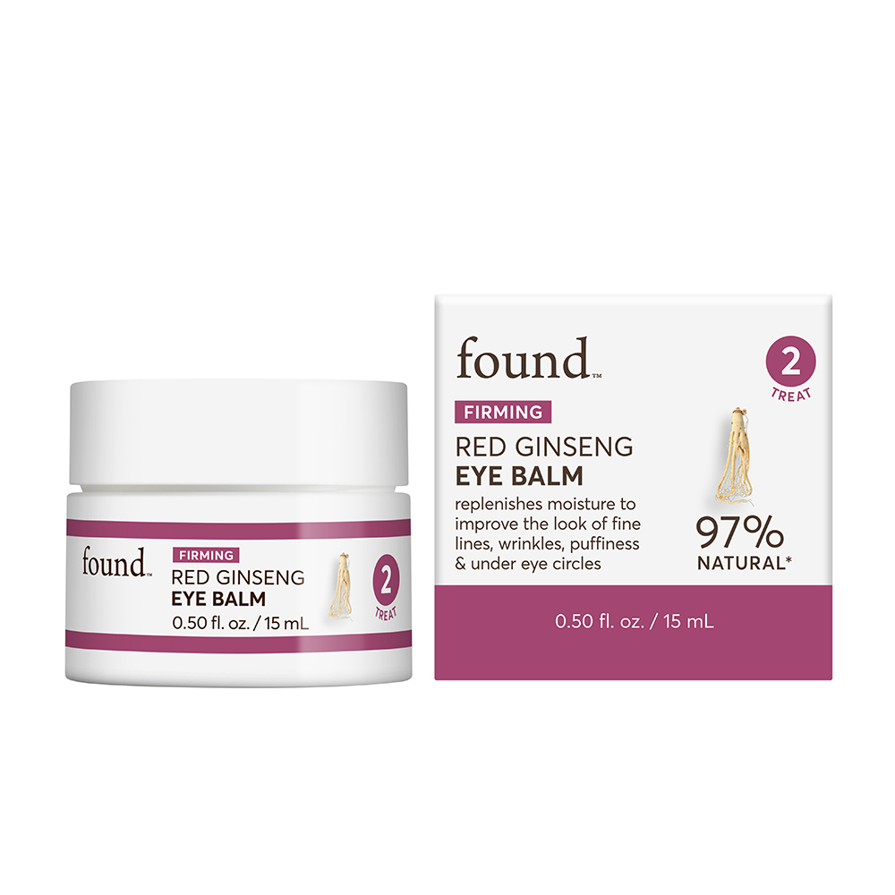 FOUND FIRMING Red Ginseng Eye Balm, 0.5 fl oz