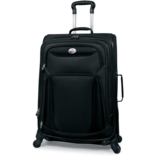 """American Tourister Meridian 25"""" Spinner Upright, Red"""