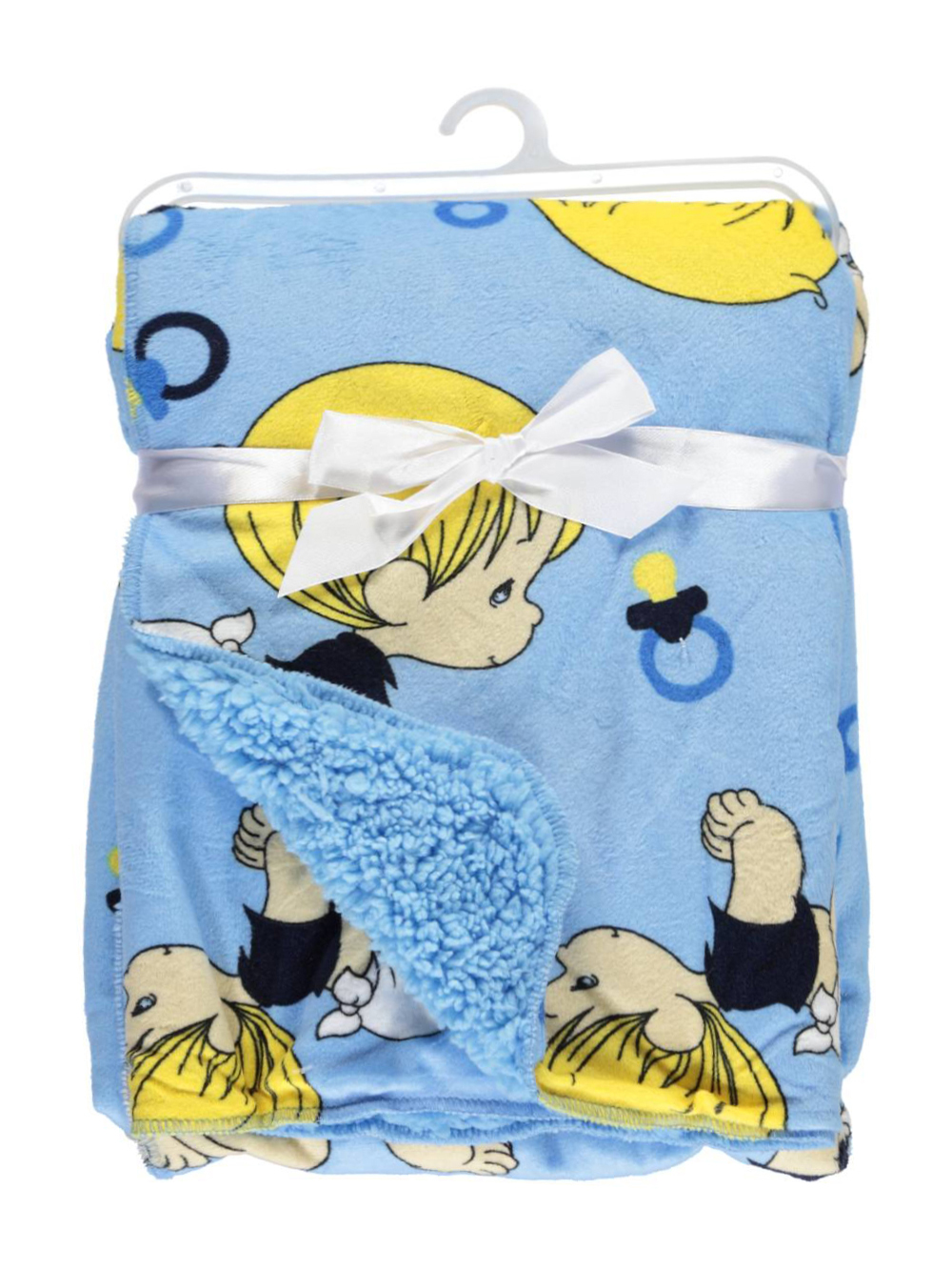 """Precious Moments """"Toy Crawl"""" Microplush Blanket by Precious Moments"""