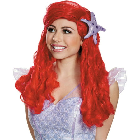 ARIEL ULTRA PRESTIGE ADULT WIG - Ariel Little Mermaid Wig