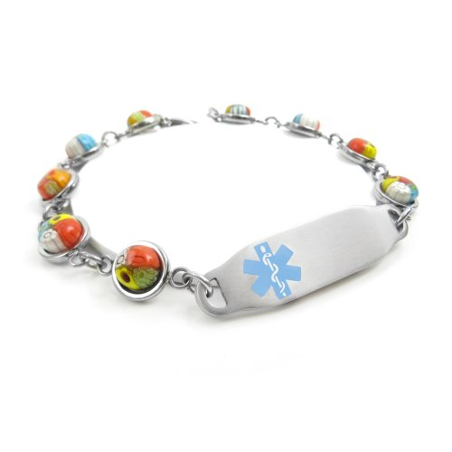 MyIDDr - Engraved Bariatric Surgery Medical Alert Bracele...