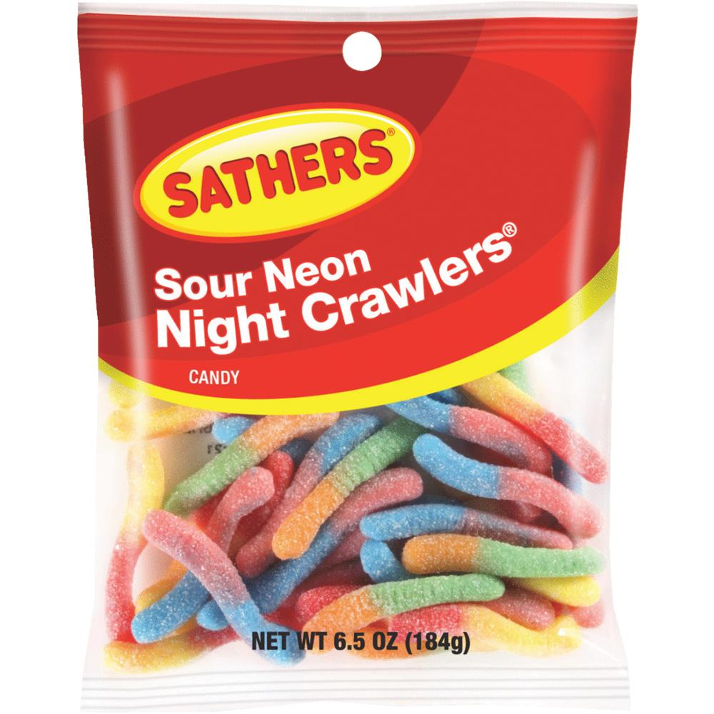 12/Pack Farley'S/Sathers Candy 25027 Sour Bite Crawlers Candy