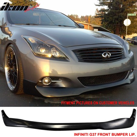 08 13 fit for infiniti g37 coupe 14 q60 evo urethane front. Black Bedroom Furniture Sets. Home Design Ideas
