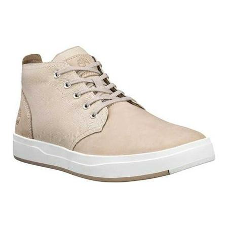 Men's Timberland Davis Square FabricLeather Chukka Boot