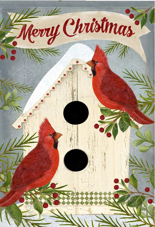 Cardinals Birdhouse by Cranford Group