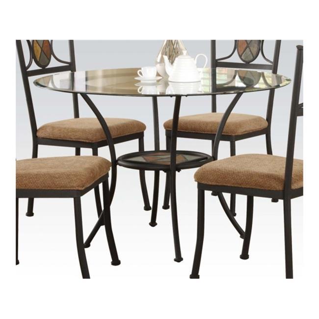 Acme Furniture Desi Dining table Walmart