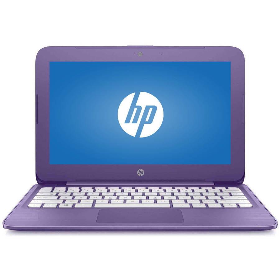 "Refurbished HP Stream 11.6"" Laptop, Windows 10 Home, Intel Celeron N3060 Processor, 4GB RAM, 32GB eMMC Storage"
