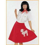 MorrisCostumes FM23545 Poodle Skirt Adult