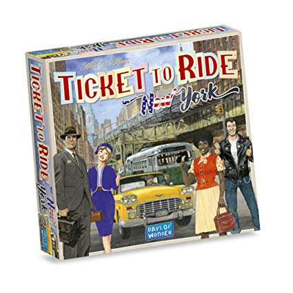 Ticket to Ride Express: New York City 1960 Strategy Board Game
