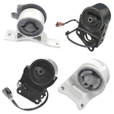 Fits  2002 2004 Nissan Altima 3 5L Engine Motor   Auto Trans Mount Set 4Pcs  W  Sensors 02 03 04 A7349el A7358el A7348 A7343