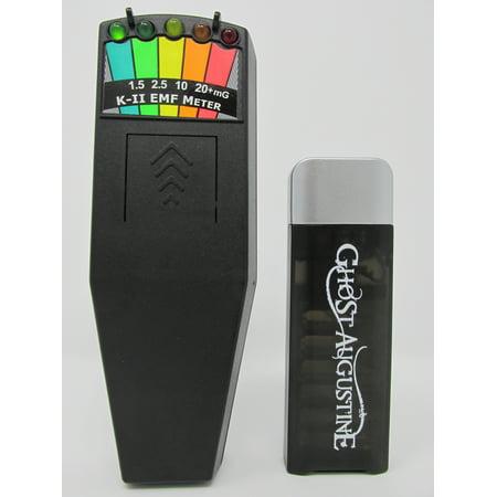 K2 EMF Meter + FREE GhoSt Augustine Flashlight-Screwdriver - K2 Double Light