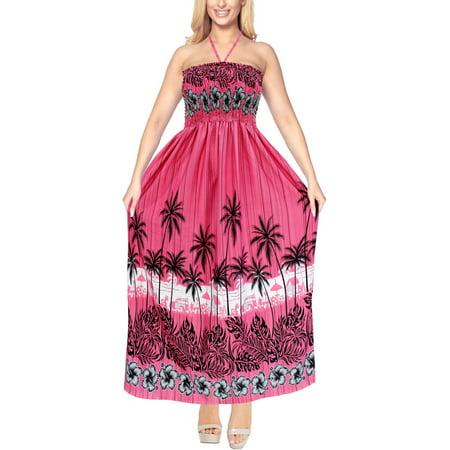 ea53b0256c HAPPY BAY - Womens Beach wear Halter Tube Top Maxi Skirt Swimsuit Swimwear  Dress Bathing - Walmart.com