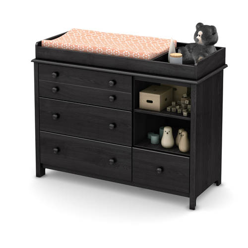 South Shore Little Smileys Changing Table with Removable Changing Station, Multiple Finishes