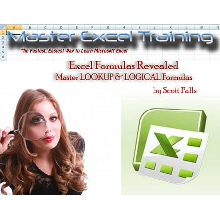Excel Master Training - Master LOOKUP & LOGICAL Formulas in Excel - Vlookup (Master Excel Training) -