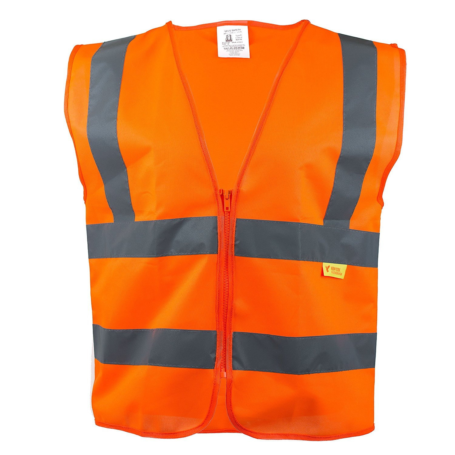 RK Safety Z7412 High Visibility Safety Vest, ANSI/ ISEA Standard - Neon Yellow / XXX-Large