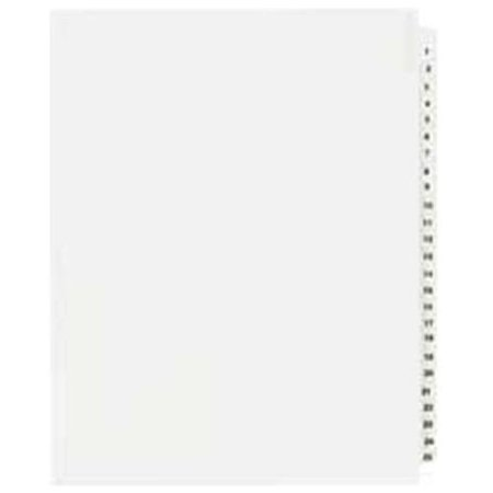 Avery Side Tab Collated Legal Index Dividers 82315 (52 Week Dividers)