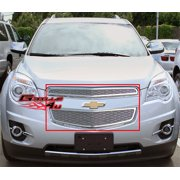 Compatible with 2010-2015 Chevy Equinox Stainless Steel Mesh Grille Grill Insert C76738T