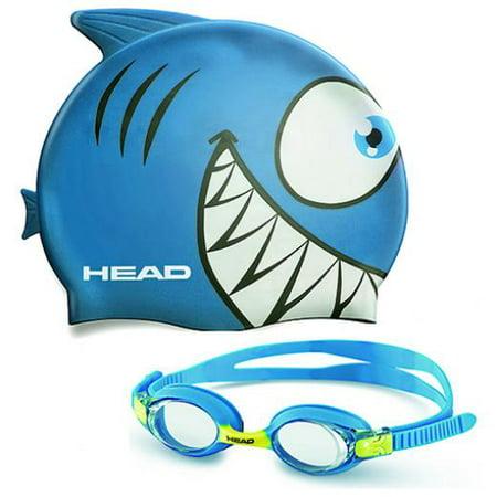 Kid's Swim Cap and Goggle Set - Cap And Goggles