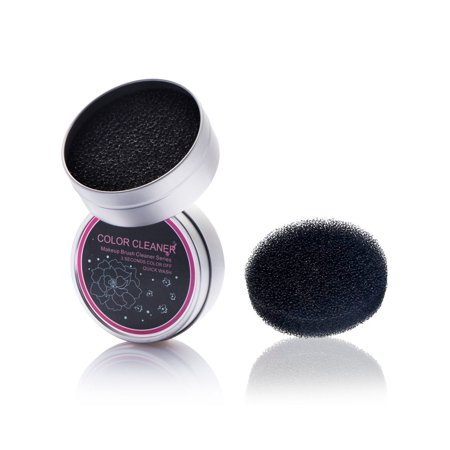 Zodaca Makeup Brush Cleaner Remover Tool Sponge Eye Shadow Eyeliner Color  Brushes Clean Color Switch Box