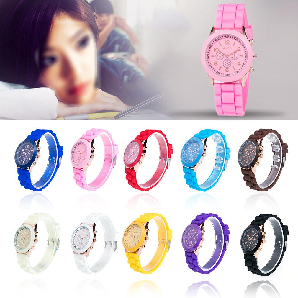 Fashion Stylish Unisex Bracelet Watch Ladies Watches Anal...