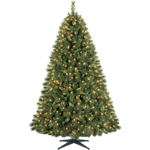 Holiday Time 7.5ft Prescott Pine Artificial Tree - Cl
