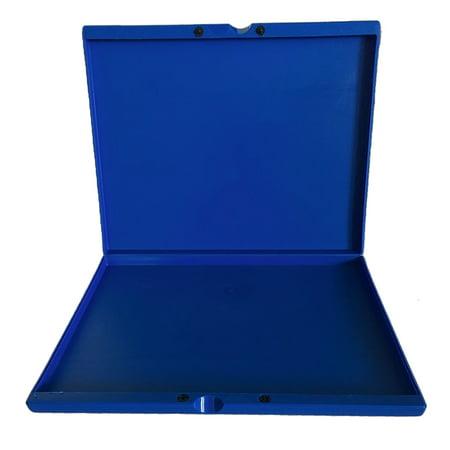 Empty Face Paint Palette Case - Blue (Clown Face Paint)