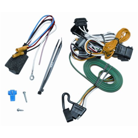 vehicle to trailer wiring wire connector harness 118346 for 95-98 ford  windstar - walmart com