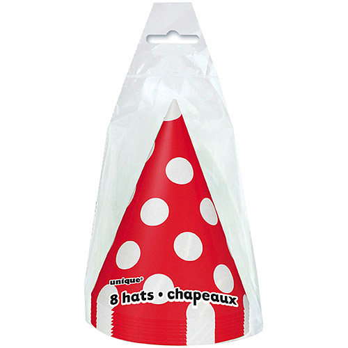 Party Hats, 8pk