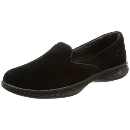 Skechers Performance Women's Go Step Lite Indulge Walking Shoe, Black, 5 M US