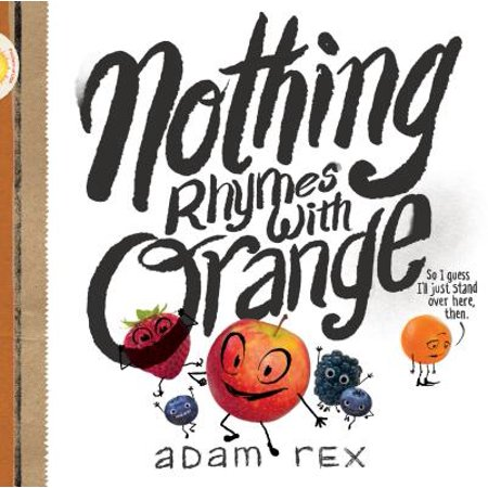 Nothing Rhymes with Orange (Hardcover) - Halloween Words That Rhyme