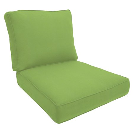 Ed Bauer Sunbrella Deep Seating Lounge Chair Cushion Double Piped