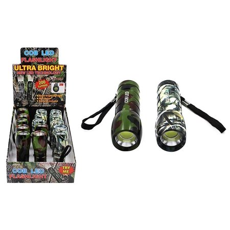 Diamond Visions Max Force 08-1694 COB LED Camo Flashlight in Assorted  Colors (1 Flashlight)