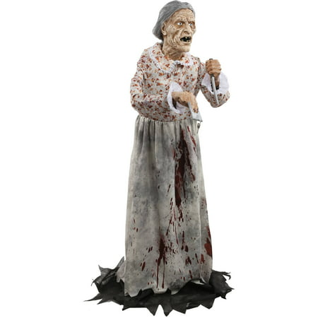 Granny Bates Halloween Decoration