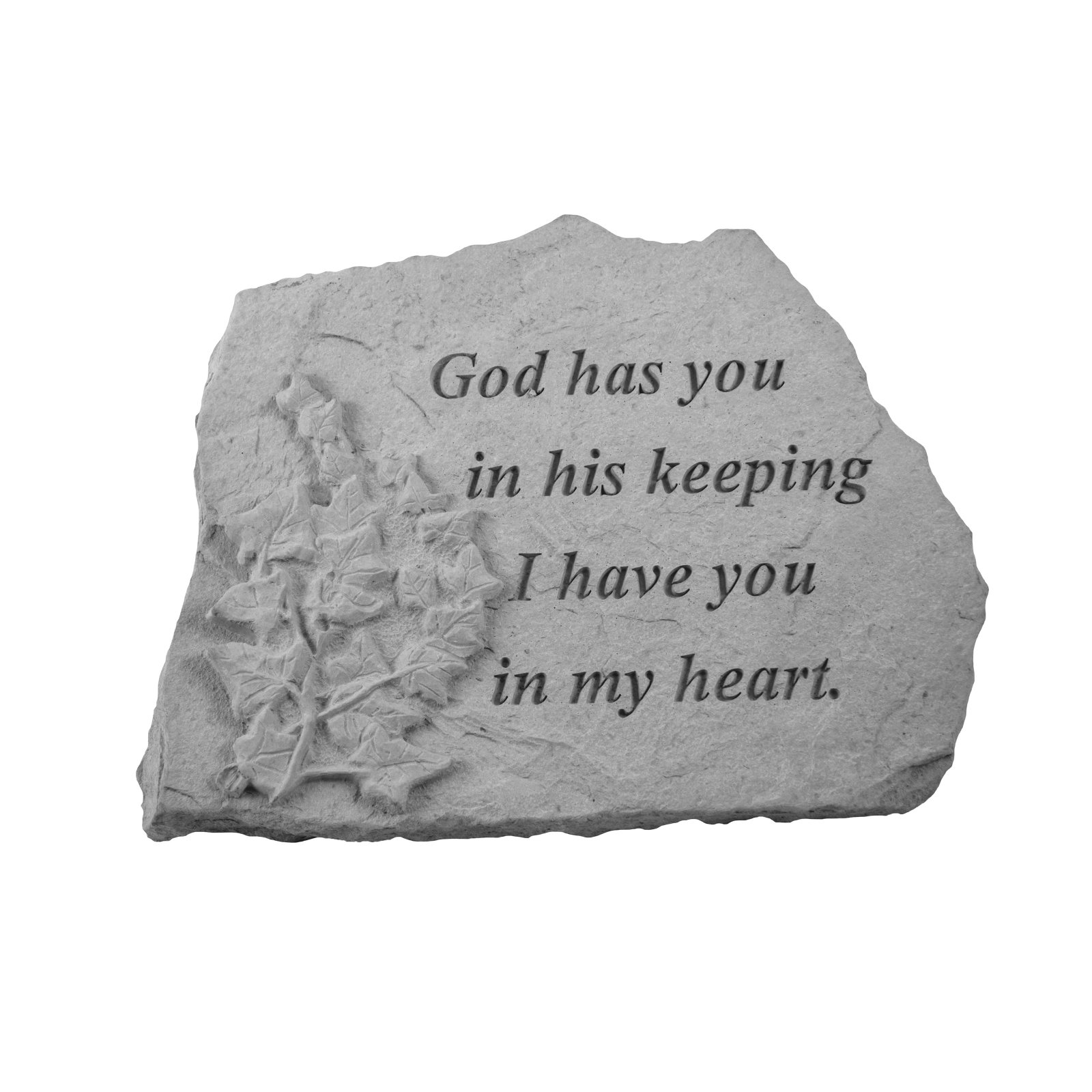 Kay Berry God Has You In His Keeping Memorial Stone - Ivy Design