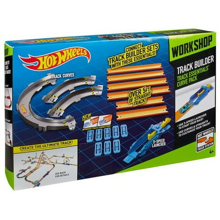 Hot Wheels Track Essentials Curve Pack