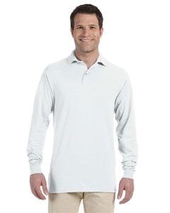 Tri-Mountain Men/'s Big And Tall Long Sleeve Rib Collar Polo Shirt K145LS-Tall