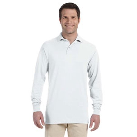 Jerzees Spotshield Adult Long Sleeve Jersey Sport Shirt 437Ml State Long Sleeve Polo