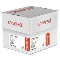 Universal Printout Paper, 4-Part, 15lb, 9.5 x 11, White/Canary/Pink/Buff, 900/Carton -UNV15874