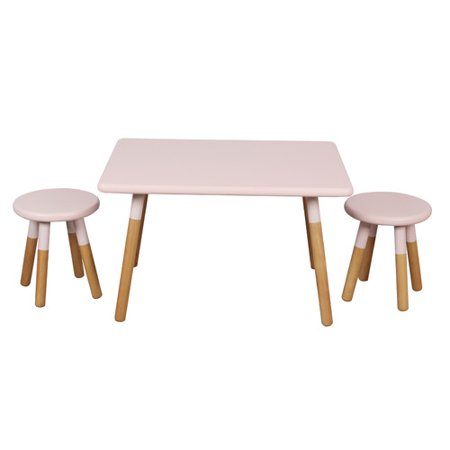 Acessentials Kids Table And Stool Set Multiple Colors
