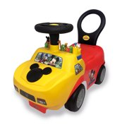 Kiddieland Disney Mickey Mouse Playtime Light & Sound Activity Ride-On