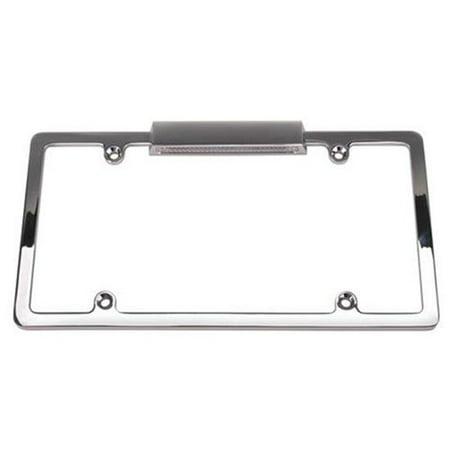 Lighted Chrome License Plate (Lighted License Plate Frame)