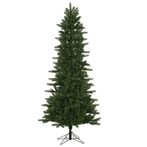 The Holiday Aisle 10' Kennedy Fir Slim Christmas Tree  with Stand