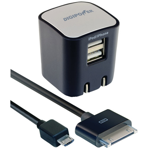 Digipower SP-AC200 Universal Dual USB Port Wall Charger
