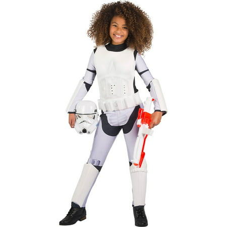 Star Wars Classic Girls Stormtrooper Costume](Movie Star Girls Costume)