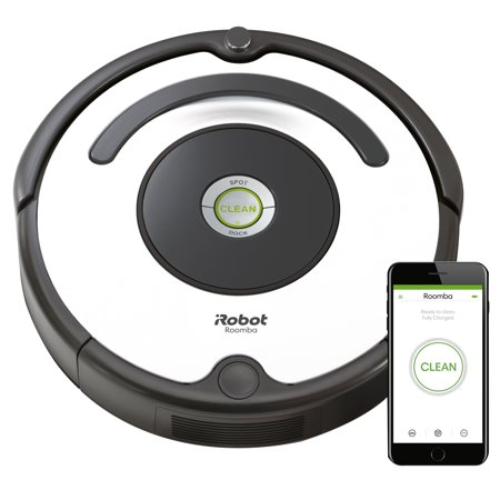 iRobot Roomba 670 Robot Vacuum-Wi-Fi Connectivity, Works with Google Home, Good for Pet Hair, Carpets, Hard Floors, Self-Charging