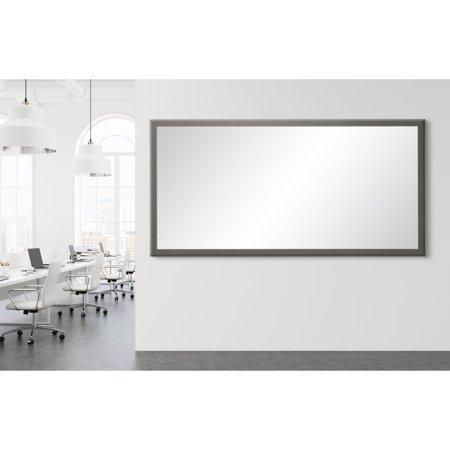 BrandtWorks Modern Matte Floor Mirror - Charcoal