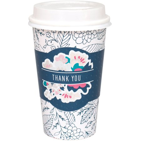 Homemade With Love Coffee Sleeves - Coffee Crafting-Thank You 6/Pkg