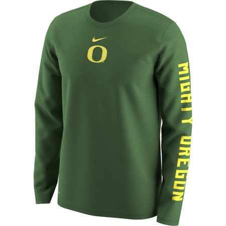 Oregon Ducks Nike Week Zero Trainer Hook Performance Long Sleeve T-Shirt -