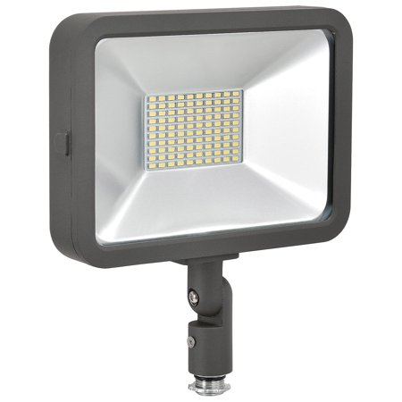 LED Flood Light, 50W, 4500 Lumens, w/Knuckle Mount, Lot of 1